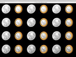 Dia YellowGold Icon set 01 OSX by taketo