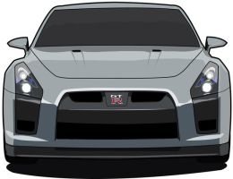 Skyline GTR 2008 by illustrated90