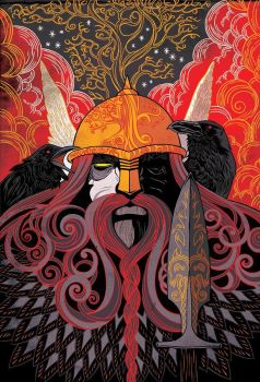 Odin by Arts--Paiens