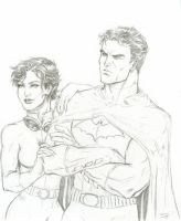 Bruce and Selina by thirth