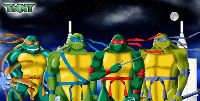 .: TMNT :. by Sincity2100