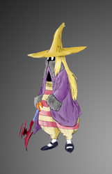 Final Fantasy Tactics Black Mage by zatende