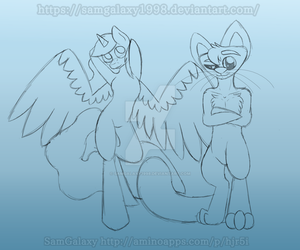 Collab w.i.p by SamGalaxy1998