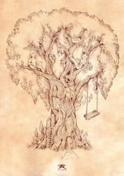 The Story Tree by TrollGirl