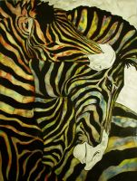 Zebras by LittleDemon74