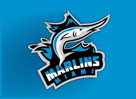 Miami Marlins by chickenfish13