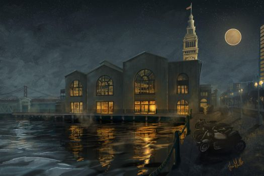 SF Ferry Building by chateaugrief
