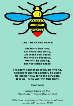 Peace Poem: Let There Bee Peace -Peace Poetry by CliveBlake
