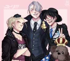 Yuri!!! On Ice by Bellchaan
