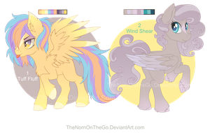 August Pegasus Pony Adopts updated: CLOSED by TheNornOnTheGo