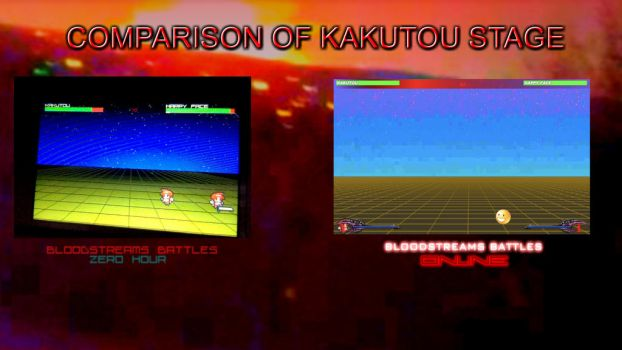 Comparison of Kakutou Stage by Icepenguins101