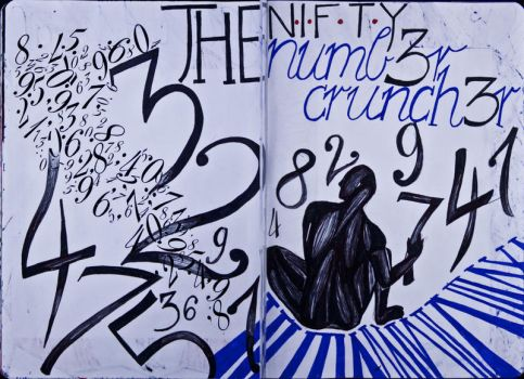 The Sketchbook Project 2013 - N by Nakilicious