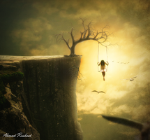 away from the world by Ahmed-Rashad-Art