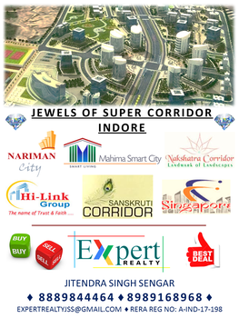Super Corridor, Indore - Expert Realty, Indore by expertrealty