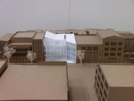 14th St. - Front Aerial Elevation - Final Model by Nayias01