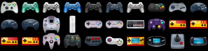 Gaming Icons Full Preview by deleket