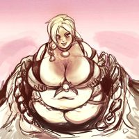 Her Farmers Cleavage by TheAmericanDream