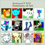 Bookfangeek's 2011 summary of art by bookfangeek
