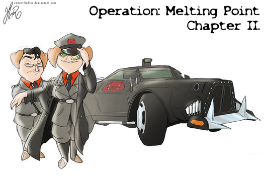Operation : Melting Point - Chapter2 Cover by RobertFiddler