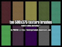 10 Texture + Pattern Brush by Red-Eclipse
