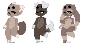 Quick anthro adopts (closed) by codeadopts5675