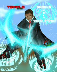 Damian -Volt- Singleton by SoveReignComics