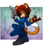 Comm. Nadon the Cheetah by 13VOin