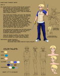 Ref Sheet: Teenage Niles by witch-girl-pilar