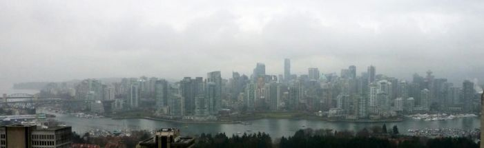 Foggy Scape Panoramic by CoFFeeZomBee
