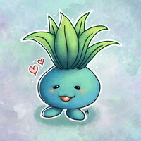 #43 Oddish Pokemon Challenge by Meridot