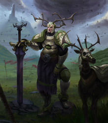 -- Stag Knight -- by C0nstantini
