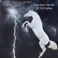 Guy's Don't Like Me EEE ISH Stallion by Littlekitty09