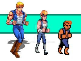a reason for be Double Dragon by Shayeragal
