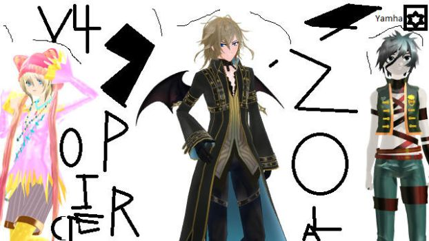 MMD Vocaloid Zola Project v4! by Ryad2006