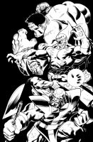 Hulk 10 B Cover by DexterVines