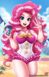 Eg swimsuits Pinkiepie by RacoonKun