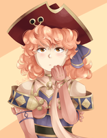 Genny with the red tricorn by pumvilla