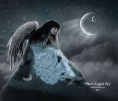 When Angels Cry by StarfireArizona