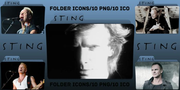 Sting Folder Icons Pack by ChrisNeville85