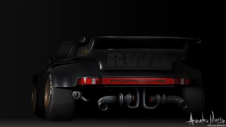 Porsche 930 by the-mba