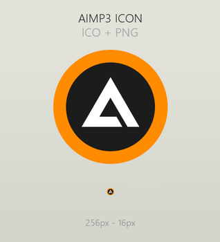 AIMP3 Icon by TheDeviantWizard