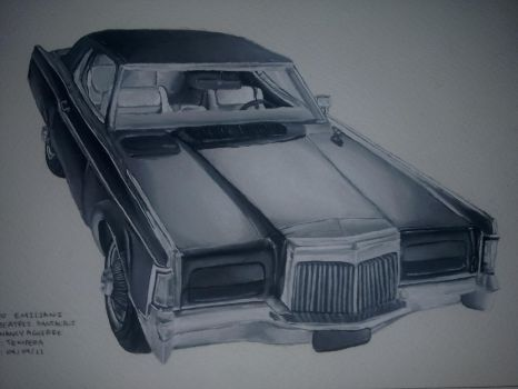 Lincoln Continental 1969 by numblight