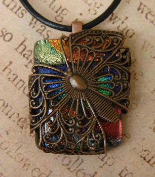 Butterfly Wrapped Fused Glass by FusedElegance