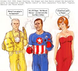 Mad Men - Avengers Mash-up, sort of by Nick-Perks