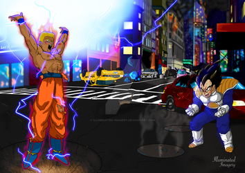 Dragon Ball z custom request by Illuminated-Imagery