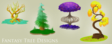 Fantasy Tree Designs