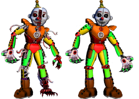 Monster Circus Ennard by shadowNightmare13