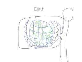 Design A Flag For Planet Earth by awsome-drawings