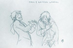 Fred and George Are Outrageous by Maseiya