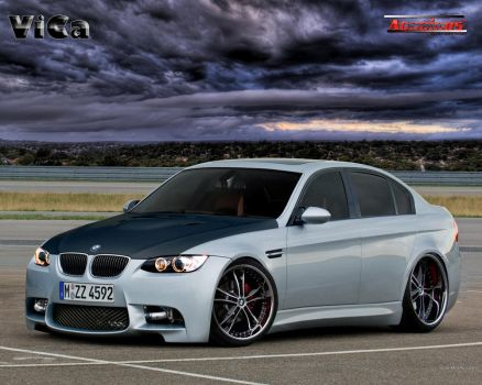 BMW M3 Sedan by vicadesigner